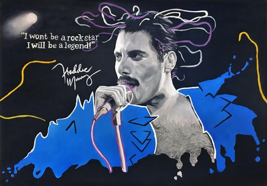 Freddie Mercury by sarahluna